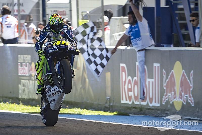 Rossi imparte cátedra en Jerez