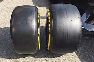 Formula 1 Breaking news Pirelli offers first look at wider 2017 F1 tyres