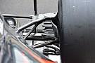 McLaren: nuova brake duct posteriore e modifica al fondo sulla MP4-31