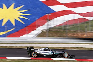 Formula 1 Practice report Malaysian GP: Rosberg leads Hamilton by 0.5s in FP1