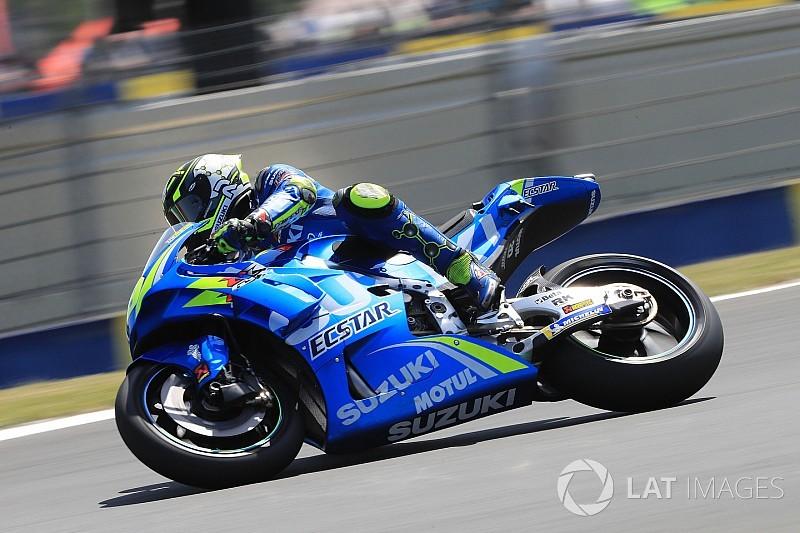 MotoGP-Test in Barcelona: Regen sorgt für wenig Fahrbetrieb