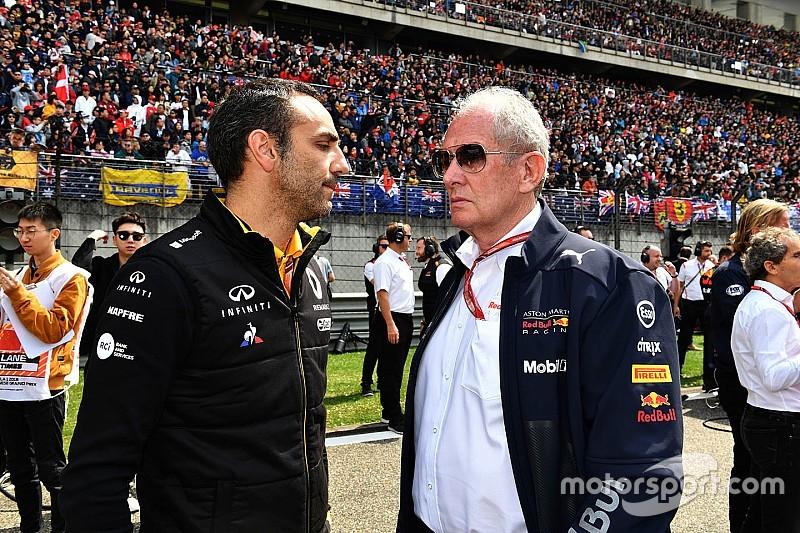 Renault advierte a Red Bull que corre el riesgo de quedarse sin motor