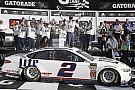 NASCAR Cup Кеселовски выиграл внезачетную гонку NASCAR в Дайтоне