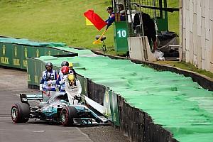How Hamilton's Brazil crash has now played into his favour