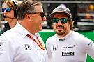 McLaren se entusiasma com nova chance na F1 em 2018