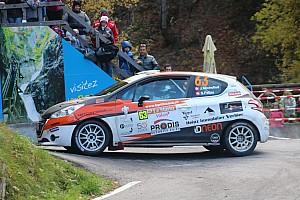 Schweizer rallye Rennbericht Sieg und Vizemeistertitel für Jonathan Michellod