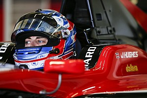 GP3 Interview Hughes eyes chance to join British single-seater elite