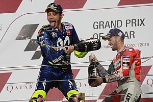 """MotoGP Declaraciones Rossi: """"El objetivo es no hacer carreras de mierda como el año pasado"""""""