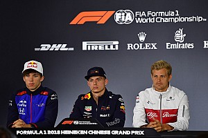 Formula 1 Press conference Chinese GP: Thursday's press conference