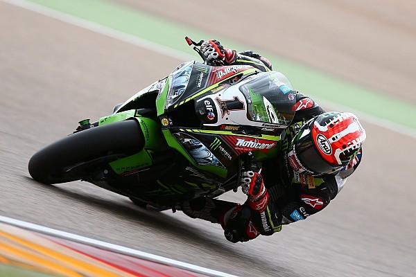 Aragon WSBK: Rea beats Ducatis in red-flagged race