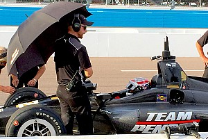 IndyCar Breaking news IndyCar aims to test cockpit protection screen at Phoenix in February