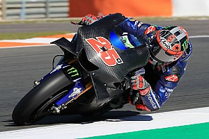 MotoGP Laporan tes Tes Valencia: Vinales kuasai hari pertama, Rossi terjatuh