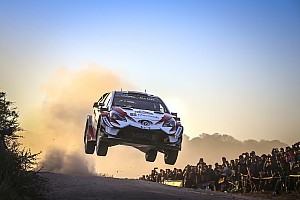 WRC Leg report Argentina WRC: Tanak opens up lead after Mikkelsen puncture
