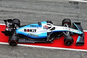 Галерея: новий Williams FW42 нарешті побачив трасу
