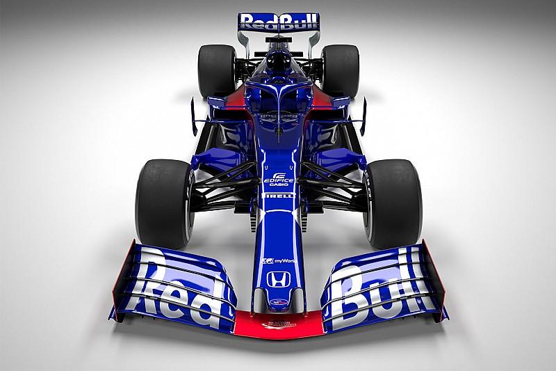 GALERÍA: Así es el nuevo Toro Rosso 2019