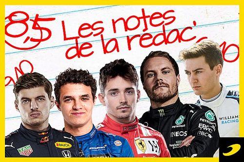 Les notes du Grand Prix d'Émilie-Romagne 2021
