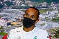 F1: Hamilton diz que FIA ainda não iniciou conversas sobre protesto antirracista no pódio
