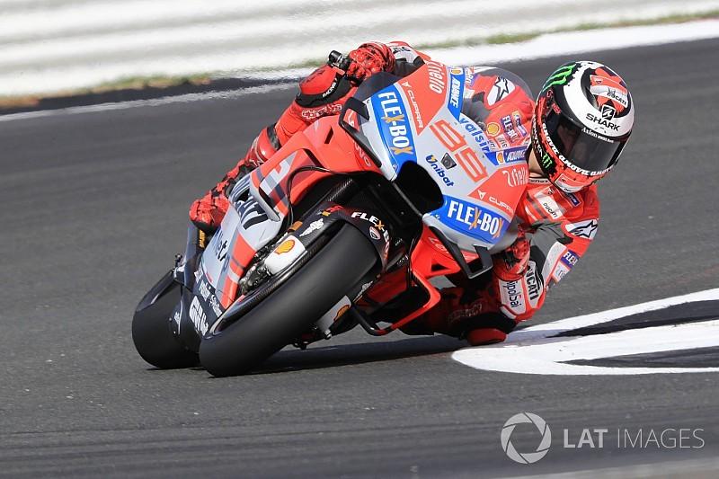 MOTO GP GRAND PRIX DE GRANDE-BRETAGNE 26 AOUT  Jorge-lorenzo-ducati-team-1