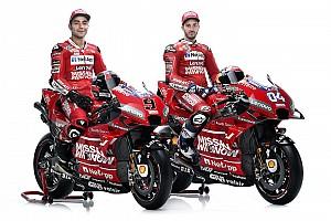 Ducati presenta una Desmosedici más roja y