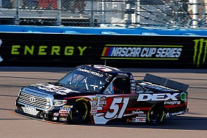 Harrison Burton to run full Truck schedule with KBM in 2019