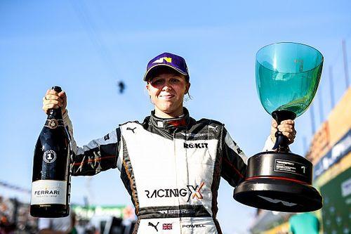 W Series Zandvoort: Powell gana y recupera el líderato del campeonato