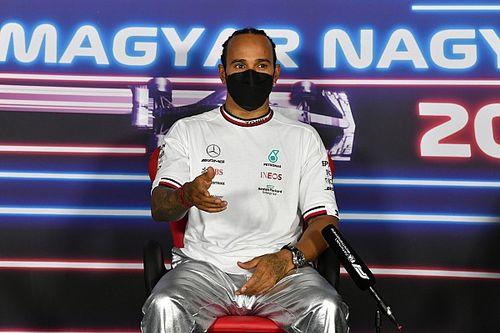 """F1 - Hamilton contesta: """"dizer 'catimba' explica não pilotar na F1"""""""