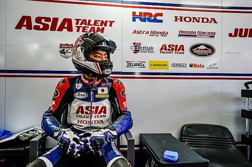 ホンダ・チーム・アジア、フランスGPのMoto3で松山拓磨をワイルドカード起用。今季はジュニア選手権で表彰台獲得