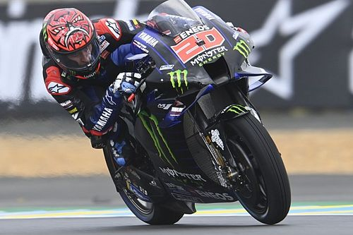 "Quartararo: MotoGP tyre warm-up ""total disaster"" at Le Mans"