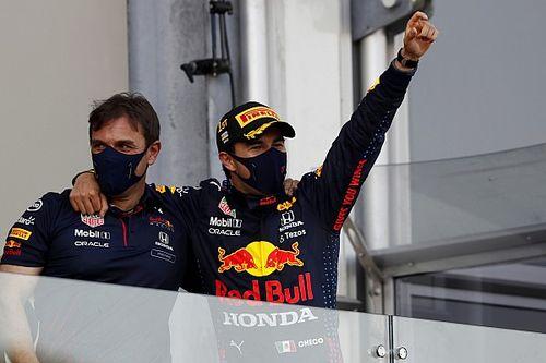 Azerbaijan GP: Perez wins after drama for Verstappen, Hamilton