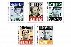 F1 Noticias de última hora Canadá emite sellos postales con leyendas de la F1