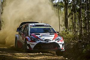 WRC Resumen de la etapa Latvala y Meeke, en un pañuelo en la segunda mañana del Rally de Portugal