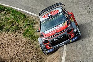 WRC Prova speciale Spagna, PS18: ancora Meeke! Problemi idraulici sulla C3 di Lefebvre