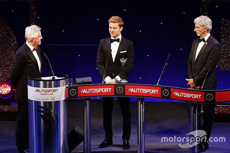Росберг и Хэмилтон получили награды на церемонии Autosport Awards