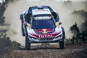 Дакар Новость Peugeot показала новый автомобиль для «Дакара»
