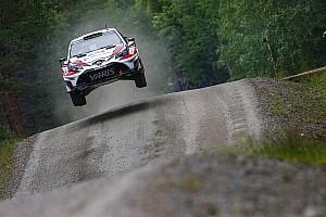 WRC Resumen de la etapa Cuatro finlandeses lideran en Finlandia con Latvala al frente
