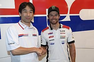 MotoGP Noticias de última hora LCR anuncia el acuerdo por dos años entre Crutchlow y Honda