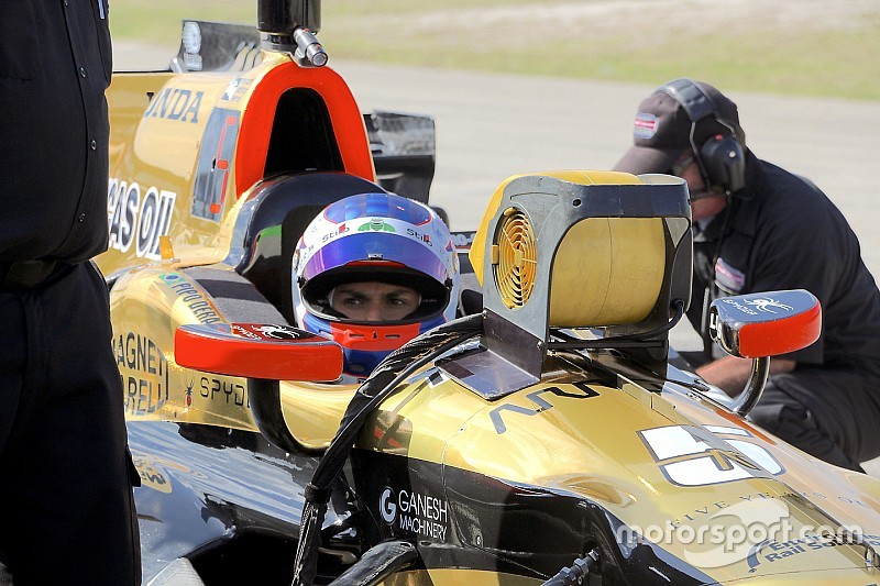 """Derani se inspira en Wickens para Indy 500: """"puedo hacer lo mismo"""""""