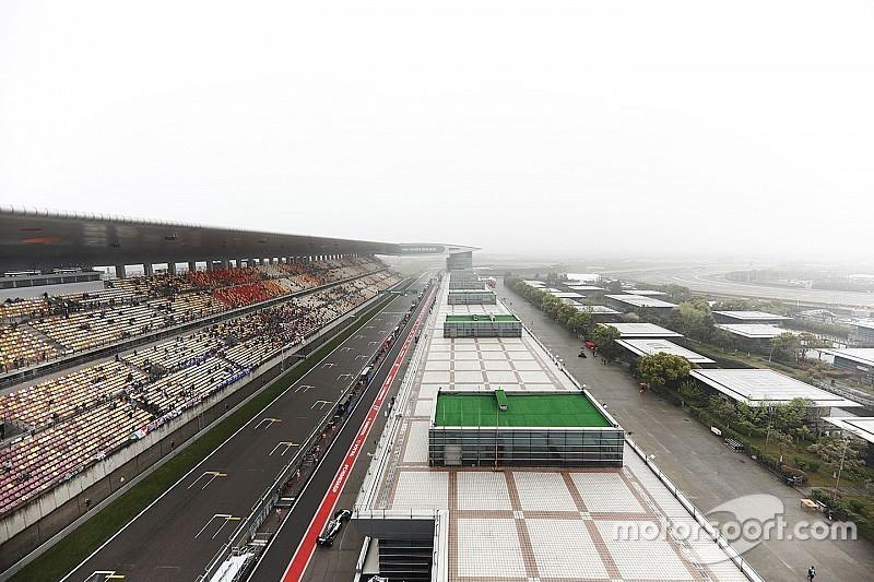 Вторая тренировка Гран При Китая не состоялась