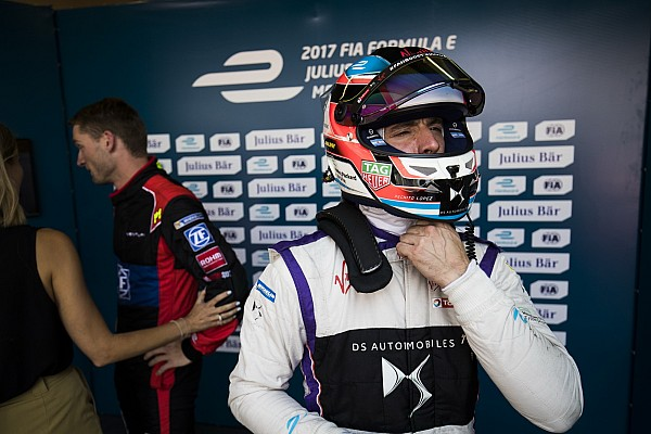Formula E Lopez waiting on post-practice Monaco clearance