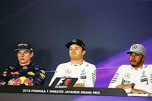 Formula 1 Press conference Japanese GP: Post-race press conference