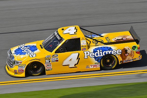 David Gilliland takes pole position for NASCAR Truck opener at Daytona