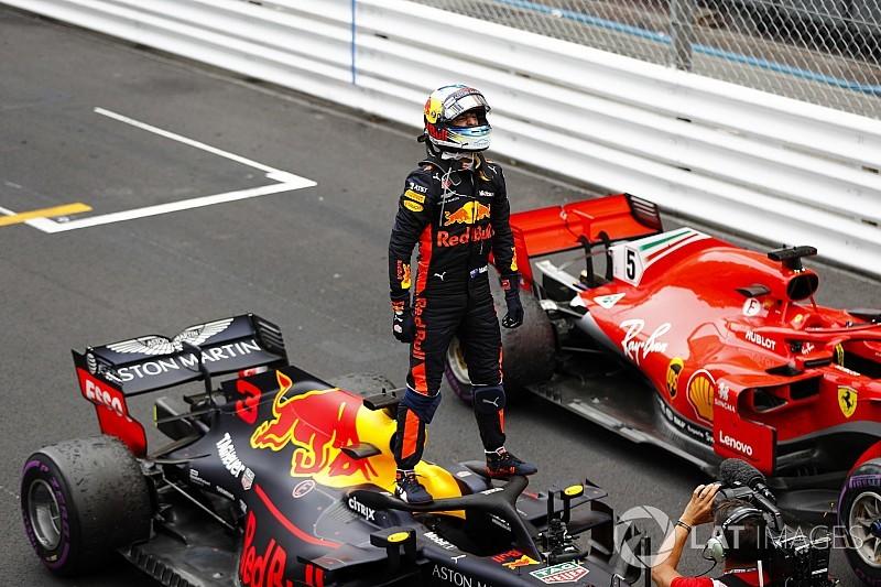 Fotogallery: il trionfo di Ricciardo e della Red Bull nel GP di Monaco