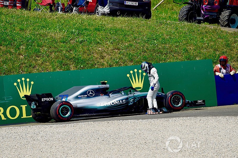 Mercedes checks for