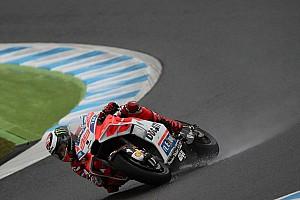 """MotoGP Noticias Lorenzo: """"Con tanta agua fue un desastre"""""""