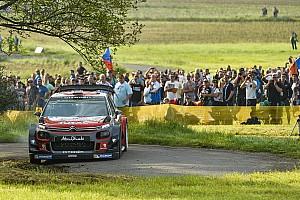 WRC Resumen de la fase Mikkelsen lidera en el comienzo del viernes en Alemania