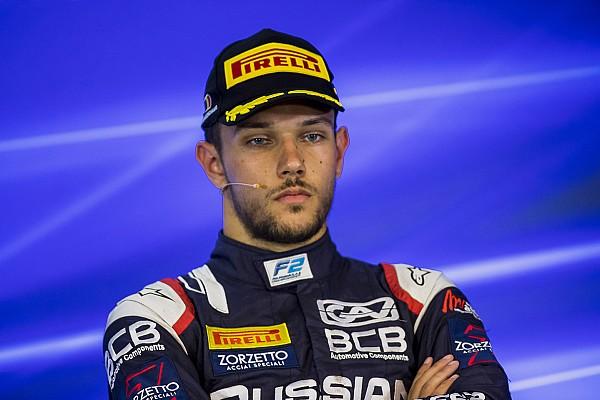 FIA F2 Son dakika Ghiotto ceza aldı, zafer Fuoco'nun