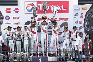 Blancpain Endurance Race report Sainteloc Audi juarai balap Spa 24 Hours