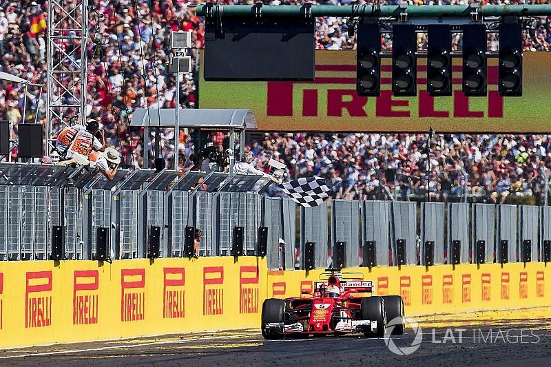 F1 2017 ilk yarı raporu: Vettel lider başladı lider bitirdi