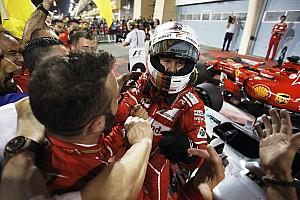 """Fórmula 1 Últimas notícias Após vitória, Vettel exalta Ferrari: """"Carro estava um sonho"""""""