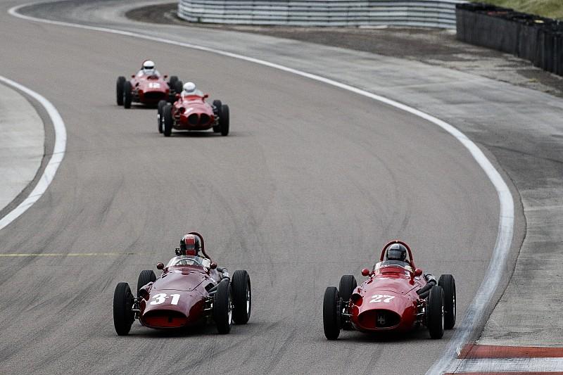 F1 d'avant 1966:près de40 voitures de Grand Prix au départ!